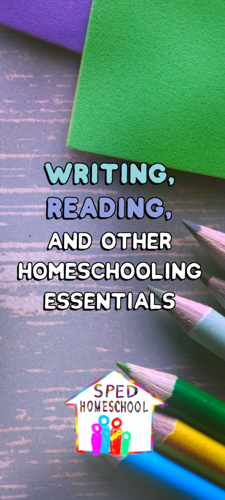 homeschooling essentials vert blog image