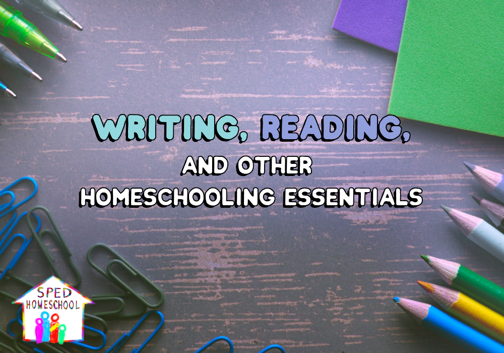 homeschooling essentials blog image